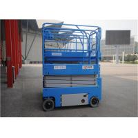 Cheap 12m Self Propelled Scissor Lift Elevated Single Person Storage Battery Power for sale
