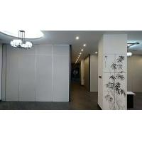 Cheap Commercial Aluminium Sliding Door / Office Folding Partition Wall Multi Color for sale