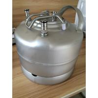 Cheap Professional Cornelius Keg With Pressure Relief Valve And Lids , 1.75 Gallon Keg for sale