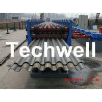 Cheap 50Hz, 3 Phase Silo Steel Corrugated Sheet Roll Forming Machine With 18 Stations for sale
