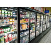 Cheap Superstore Cold Chain Multideck Display Fridge For Fresh Meat And Sausages for sale