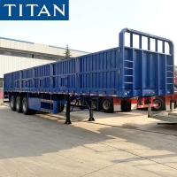 Cheap Side wall trailer for sale | flatbed semi trailer with removable sides for sale