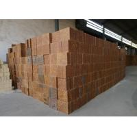 China Mullite Silica Refractory Bricks Bauxite Chamotte Material Brown Color For Cement Kiln on sale