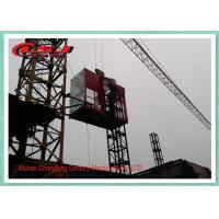 Cheap High Speed Personnel And Materials Hoist , Building Site Man Hoist Equipment for sale