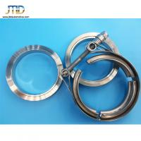 China High quality V band Clamp Standard Clamp with Male and Female Flanges on sale