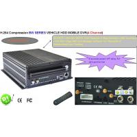 Cheap H.264 Linux 3G SIM Card SD Card+ HDD GPS Mobile DVR For Ship , Truck for sale