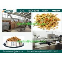 Cheap DARIN Twin Screw dog food extruder with ISO , Feed Pellet Production Line for sale