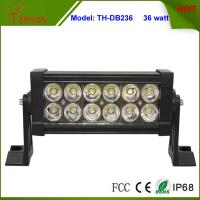 Cheap 7.5 inch Low Profile 36W LED Light Bar for Trucks, Double Row Light Bar in classic style for sale