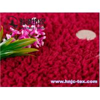 Cheap Hot sell lamb wool fabric/velveteen for pajamas fabric and apparel for sale