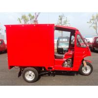 Cheap 200cc CDI Motorized Three Wheel Cargo Motor Tricycle With Air Cooling for sale