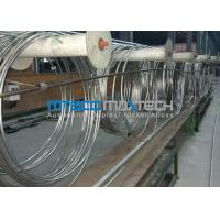 TP304 9.53 x 0.71 x 172000 mm Coiled Stainless Tubing Mesh Belt Furnace Annealing