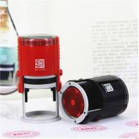 Buy cheap Wholesale Stamp Printer Round 40MM School Supplies Self inking Stamp Promotional Ruber Stamps for Teachers from wholesalers
