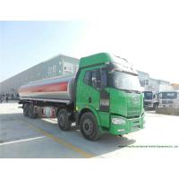 Cheap FAW J6 Fuel Transport Trucks For Crude Oil / Lubricating Oi Delivery 28000L -30000L for sale