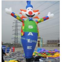 Cheap sky dancer inflatable sky dancer inflatable Clown man character sky dancer for advertising for sale