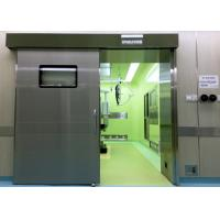 Cheap Medical Operating Room Automatic Hermetic Sliding Door Stainless Steel for sale