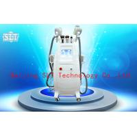 China Cryolipolysis Coolsculpting Fat Removal Machine , Lipo Laser Cavitation RF Beauty Equipment on sale