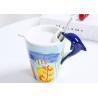 Buy cheap Dolphin 450CC Handmade 15 Oz 3D Ceramic Mugs from wholesalers