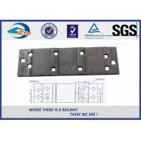 Cheap Customized Surface Forged Rail Tie Plate QT500-7 Cast Rail Base Plate for sale