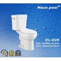 Quality Sanitary Wares Two-Piece Toilets for Bathroom Accessoires (DL-029) wholesale