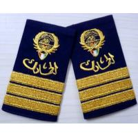 Cheap Twill / Cotton / Felt Military Custom Embroidered Patches, Embroidery Badges for sale