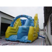Cheap Blow Up Kids / Adult Commercial Inflatable Slide In Ground Pools for sale