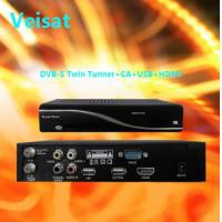 Newcam Level 3 Satellite Receiver DVB-S 6000X pvr with  HD TWIN 1800xPVR