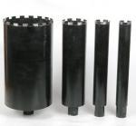 Cheap Black Wet Diamond Core Drill Bit , Diamond Hole Saw For Reinforcement Concrete for sale