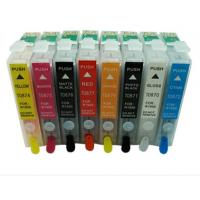 Cheap epson refillable ink cartridge for  R2880,R800/R1800 ,R1900 with arc chip for sale