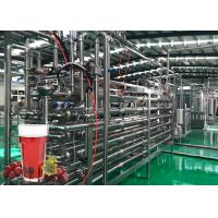 China Stainless Steel Grape Juice Making Machine 60 Tons / Hour Capacity Modular Design on sale