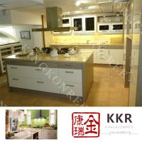 Corian solid surface kitchen island top