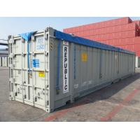 Cheap Durable Side Loading Shipping Containers , Open Shipping Container for Waste Material for sale
