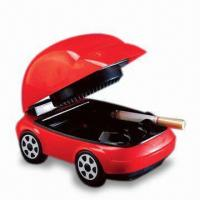 Cheap USB Smokeless Ashtray with Red LED Headlights and 2 x AA Batteries for sale