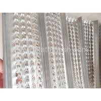 Cheap 0.3mm  0.45mm Width  High Ribbed Formwork U Patterns For Construction 3m Length for sale