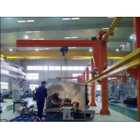 Cheap Heavy-Duty Free Standing Jib Crane For With Electric Wire Rope Hoist For Material Handling for sale