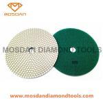 Cheap 180mm Dry Resin Bond Diamond Dry Floor Concrete Polishing Pads for sale