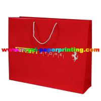 Cheap high quality luxury but cost-effective colorful paper bag printing for sale