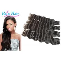 "Cheap 14"" 15"" Real Indian Virgin Hair Natural Wave Hair Extensions For Black Women for sale"