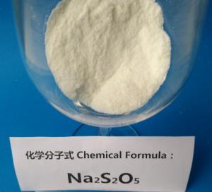 Leather treatment Sodium Metabisulfite Industrial Grade 4.5 PH Value CAS 7681-57-4