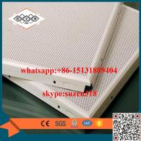 China China supplier / manufacturer aluminum round hole perforated metal ceiling on sale
