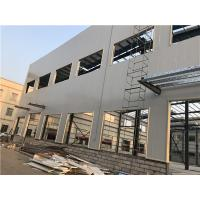 Cheap Prefabricated Light Steel Structure Building Painting / Galvanizing for sale