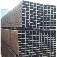 China Customized Hollow ERW Black Steel Pipe , Square Q235 Steel Pipe with IS9001 on sale
