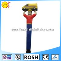 Cheap Rip Stop Nylon Inflatable Dancing Man , Inflatable Waving Man Car Show Use for sale