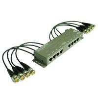 Buy cheap 8CH CCTV UTP Power Video Data Combiner HD-Tvi Balun (PVD308H) from wholesalers