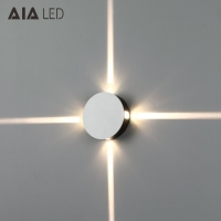 Buy cheap circular 4x1W IP20 modern LED wall lamp /LED decorative wall light for cafe from wholesalers