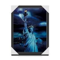 Cheap Customized Famous View 3D Lenticular Printing Picture For House Decoration for sale