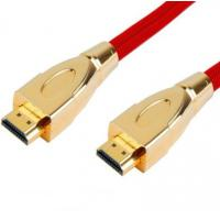 High Speed HDMI Cable with Gold Connector, Metal Connector, Double color Connector