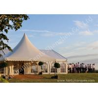 Cheap Decorated Luxury Wedding Tents Marquee With Noble / Gorgeous Linings for sale