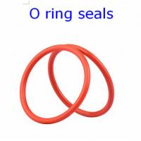 China ACM 70 Rubber O Ring Seals For Connector , Colored Orings Wear Resistant on sale
