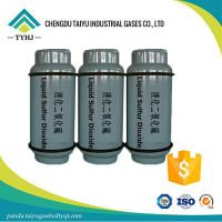 China For a reducing agent factory, buy SO2 gas Sulfur Dioxide 99.9% on sale