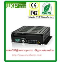 Cheap Security Vehicle 4G MDVR h.264 compression For Bus Linux operation system dual streaming for sale
